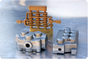 Specialised components cast in our foundry