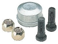 Wheel Studs, Wheel Nuts and Dust caps